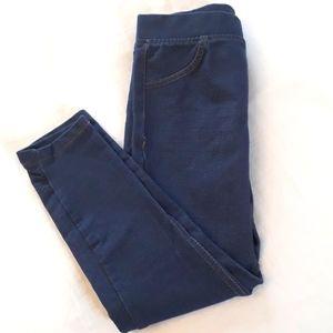 NWOT VIGOSS Girls Size 6 Blue Denim Look Leggings